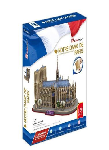 Cubic Cubic Fun 3D 74 Parça Notre Dame De Paris Renkli